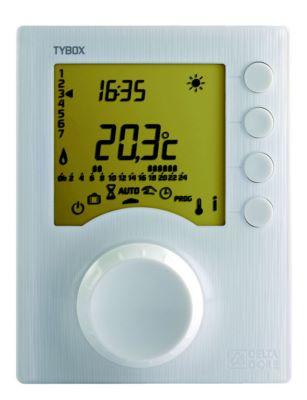 delta dore thermostat programmable filaire 1 zone. Black Bedroom Furniture Sets. Home Design Ideas
