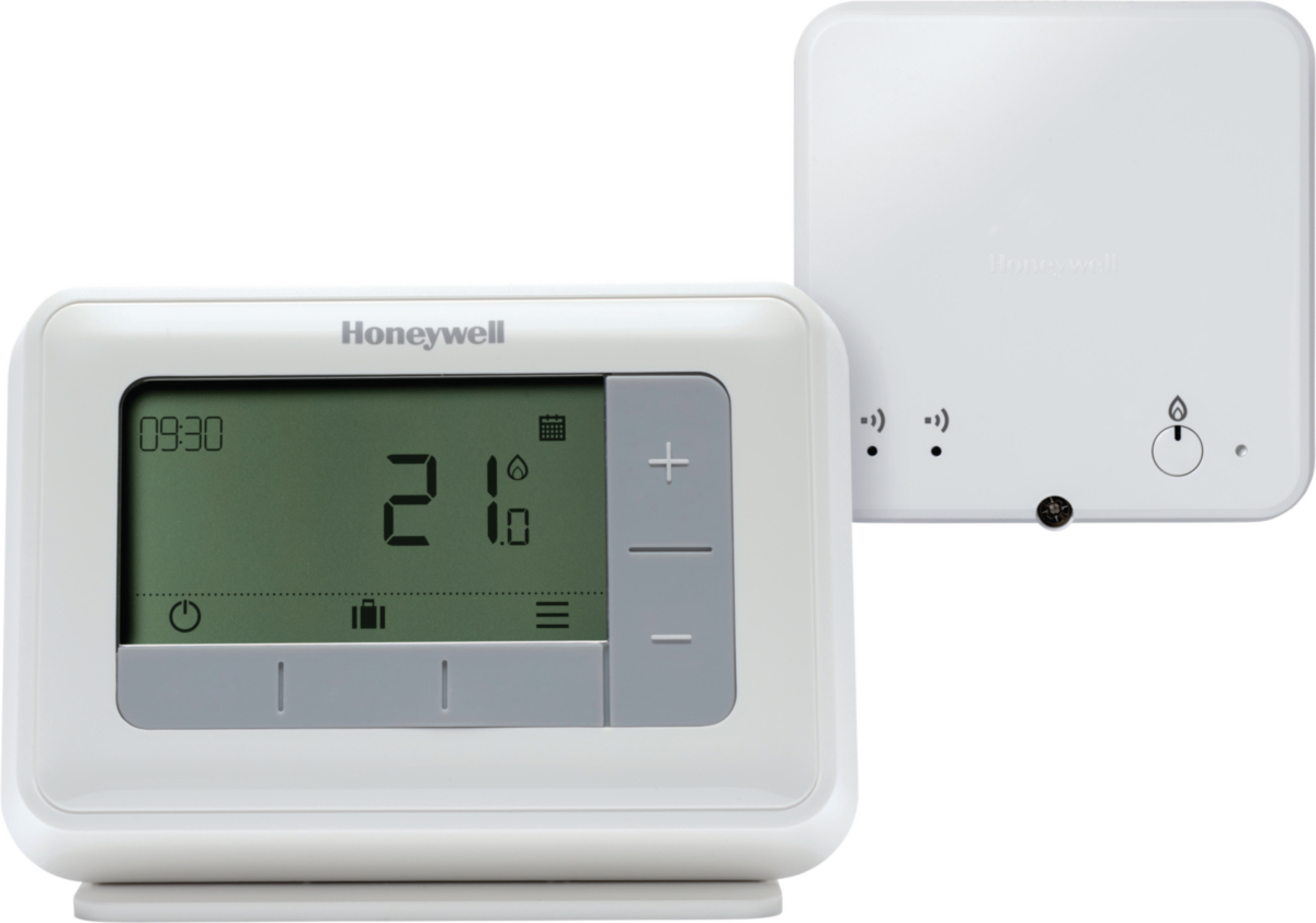 HONEYWELL Thermostat d'ambiance sans fil programmable T4R