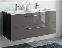 Meuble Sous Vasque 2 Tiroirs 120 Cm Série Adesio 3 Sanitaire