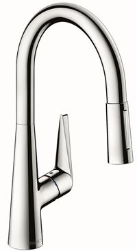 HANSGROHE Mitigeur évier TALIS avec bec extractible