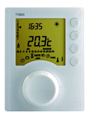 DELTA DORE Thermostat programmable filaire 1 zone TYBOX