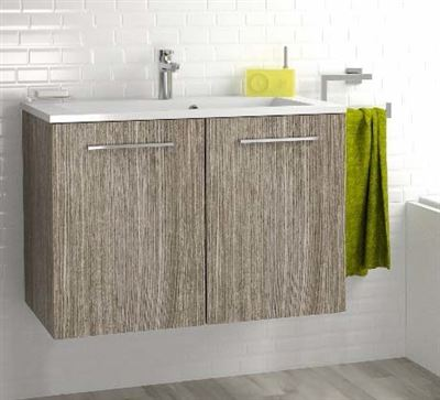 meuble sous vasque 2 portes 80 cm srie adesio 3 sanitaire distribution. Black Bedroom Furniture Sets. Home Design Ideas