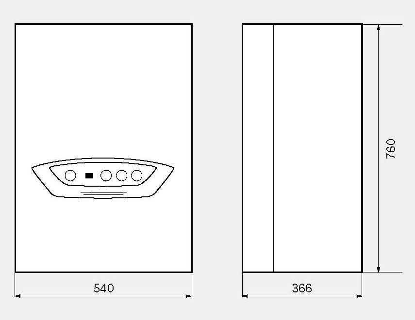 chaudire murale condensation condens 4500 w chauffage ecs par micro accumulation bosch. Black Bedroom Furniture Sets. Home Design Ideas